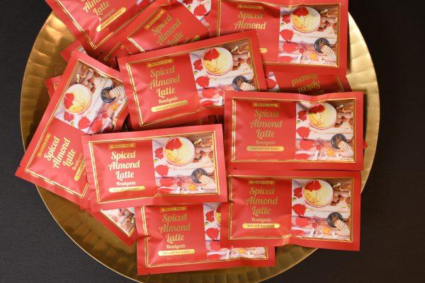 Spiced Almond Latte readymix sachets