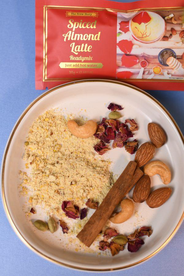Almond Latte readymix sachets